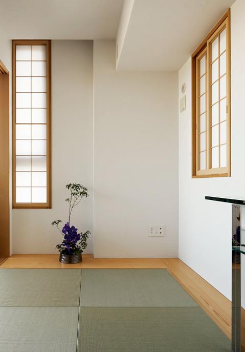 健康塗り壁材ダイアトーマスの例:和室